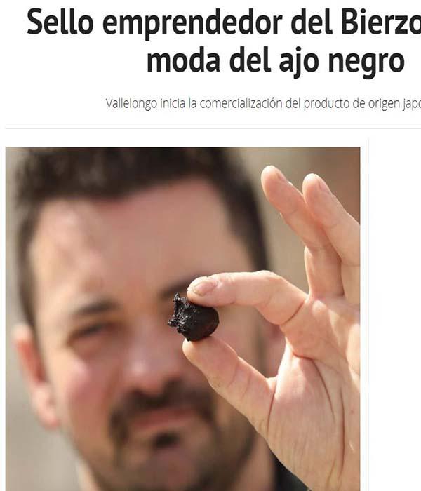 emprendedor ajo negro del Bierzo